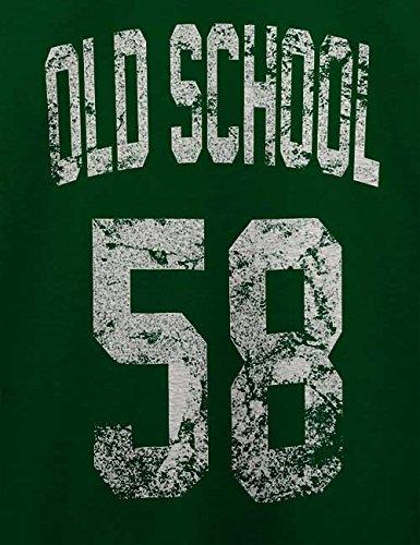 Oldschool 1958 T-Shirt Dunkel Grün
