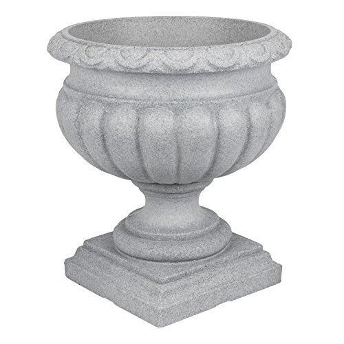 pflanzpokal-amphore-pflanzgefass-vase-schale-deko-grau-rund-d-46-cm-kunststoff