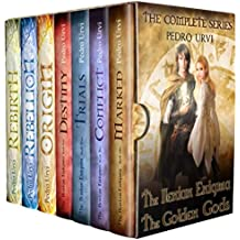 The Ilenian Enigma and The Secret of The Golden Gods (Complete Series, 7 books): A Young Adult Epic Fantasy Action Adventure (English Edition)
