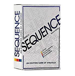 SKEDIZ Sequence Board Game Challenging Card Game for Ages 7 & Above