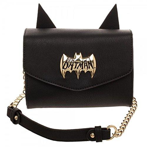 Sac bandoulière Cosplay avec bandoulière latérale Logo Batman de DC Comics