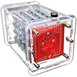 Keyestudio 4 * 4 * 4 RGB LED Cubo Luz Kit con 8 * 8 LED RGB Tablero para Arduino