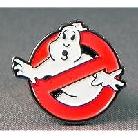 Spilla in metallo smaltato, motivo: Ghostbusters (Ghost Buster) insignia