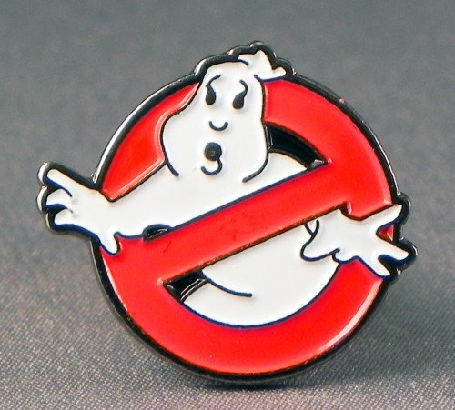 Price comparison product image Metal Enamel Pin Badge Ghostbusters (Ghost Buster insignia)