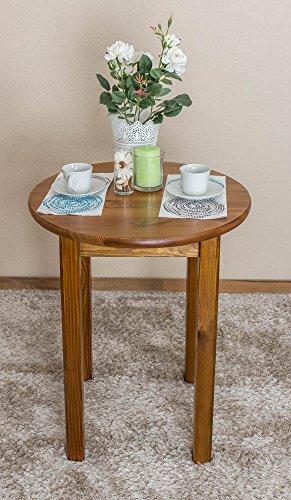 Holztisch rund 60 cm