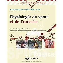 Physiologie du sport et de l'exercice adaptation physilogique a l'exercice physique