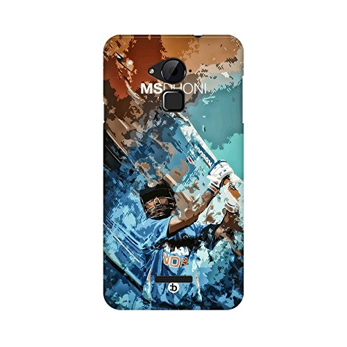 Mobicture Ms. Dhoni The Finisher In The Cricket Captain Cool Vector Premium Printed Mobile Back case Cover For Coolpad Note 3