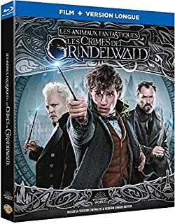 Les Animaux fantastiques : Les Crimes de Grindelwald [Blu-ray + Version longue] [Blu-ray + Version longue] (B07KBQMXLN) | Amazon price tracker / tracking, Amazon price history charts, Amazon price watches, Amazon price drop alerts