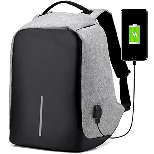 zofey Business Laptop Backpack, Anti-theft Water Resistant Computer USB Charging Port, Fit 15.6 Inch Laptops Tablets