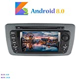 Hi-azul Android 8.0 Car Autoradio, Dash 2 Din 8-Core 64Bit RAM 4G ROM 32G Car Radio 7