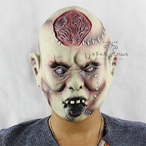 atex Maske Dummkopf Halloween Party Performance Requisiten (Kühlen Mumie Kostüm)