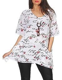 a5e4f3c57 Amazon.es  Blusas De Moda - Única   Blusas y camisas   Camisetas ...