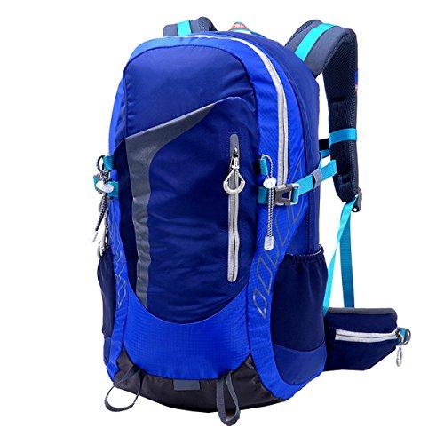 Xin.S38L Bicicletta All'aperto Sport Zaino Viaggio Borsa Da Viaggio Per L'alpinismo Copertura Di Pioggia Escursioni Zaino Multifunzionale. Multicolore Blue