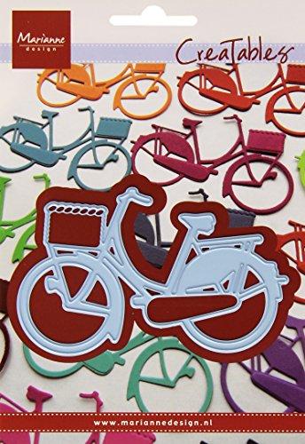 Ranger Creatables Fahrrad-Stanzschablone und Prägeschablone für die Kartengestaltung und Scrapbooking, Metal, Blau, 9.5 x 5.8 x 0.4 cm