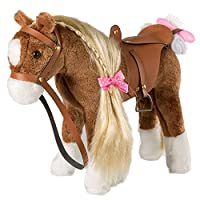 iBonny Stuffed Animal Horse Pretty Plush Toy Pretend Play