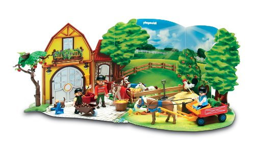 Imagen principal de Playmobil Calendario de Navidad Granja de ponis (4167)