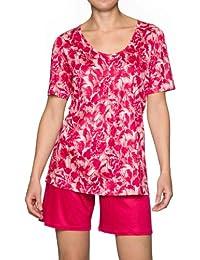 Calida Damen Pyjama Rose Water 45104