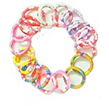 Glitteria Multi-colour Hair Bands for Wo...