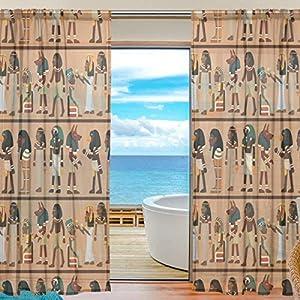 crea tu sitio web: TIZORAX - Cortinas de Gasa egipcia para Sala de Estar, Barra, Cortina de Ventana...
