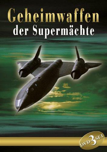 Geheimwaffen der Supermächte (3 DVD )