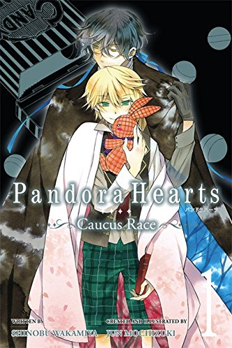 PandoraHearts ~Caucus Race~, Vol. 1 (light novel) por Jun Mochizuki