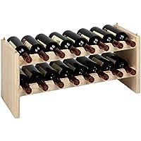 ASTIGARRAGA KIT LINE Botellero apilable 16 botellas KATEA