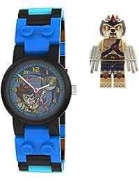 Lego - 740548 - Montre Enfant - Quartz Analogique - Cadran Bleu - Bracelet Plastique Multicolore