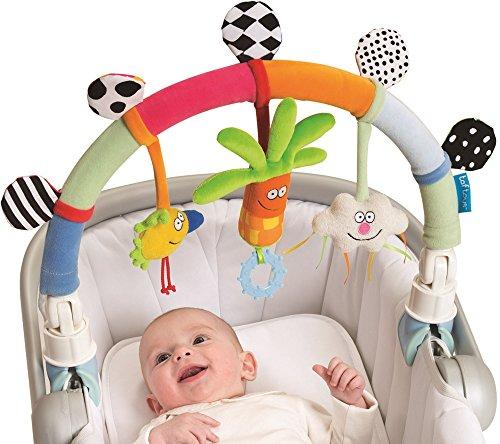 Taf Toys Rainbow Arch. Baby Stroller and Pram Activity Bar