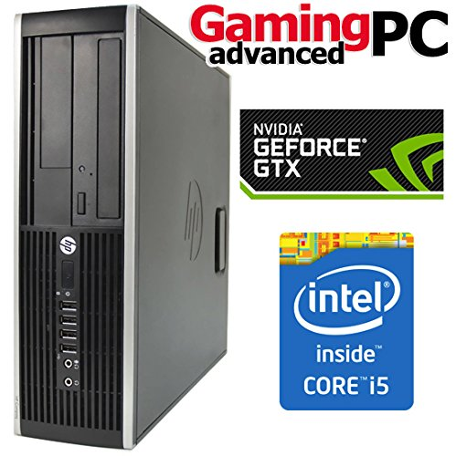 Gaming PC HP 8300 Elite Quad Core i5-3470, 16GB RAM, 1TB HDD, GeForce GTX 1050 Ti 4GB, WiFi, Windows 10 64Bit Desktop PC Computer With Antivirus (Certified Refurbished) on Line