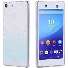 ECENCE Sony Xperia Z2 FUNDA DE GEL TPU PROTECTORA CASE MANDALA TRANSPARENTE CLEAR 32040308
