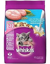 Whiskas Kitten Cat Food Junior Ocean Fish, 450 g (Small Pack)