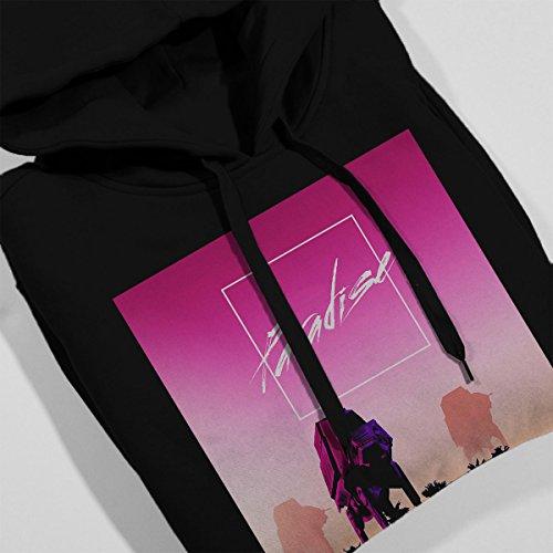 Paradise Scariff Beach Star Wars Rogue One Women's Hooded Sweatshirt Black