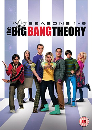 The Big Bang Theory - Season 1-9 (28 Dvd) [Edizione: Regno Unito] [Import anglais]