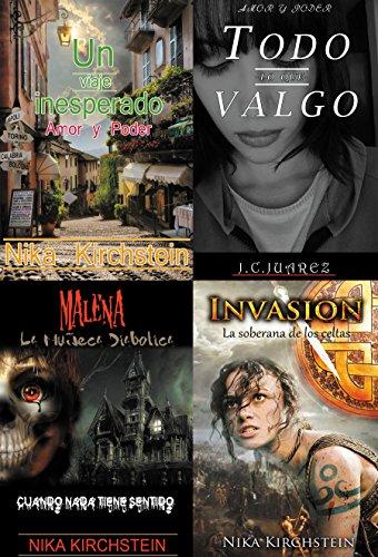 2 Novelas Romanticas + 1 Novela de miedo - Terror + 1 Novela de ...