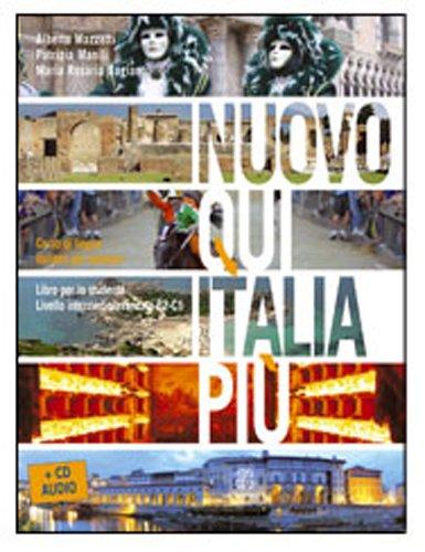 Nuovo Qui Italia pi. Corso di lingua italiana per stranieri. Con CD Audio