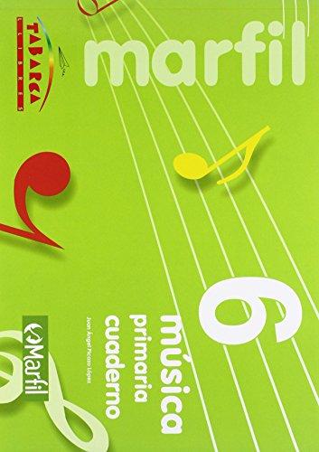 Musica 6 - cuaderno - 9788480253369
