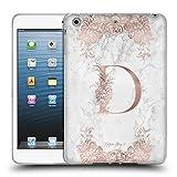 Head Case Designs Offizielle Nature Magick D Rosa Gold Marmor Monogramm Soft Gel Hülle für iPad Mini 1 / Mini 2 / Mini 3