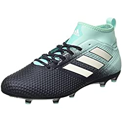 adidas Ace 17.3 FG, Scarpe da Calcio Uomo, Blu (Energy Aqua/Footwear White/Legend Ink), 42 EU