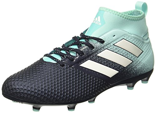 adidas Men's Ace 17.3 Fg Footbal Shoes, Bianco, Blue (Energy Aqua/footwear White/legend...