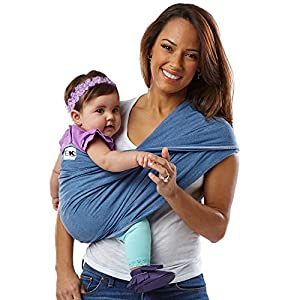 Baby K'tan Carrier Cotton (X-Small, Denim) Chicco The EasyFit is very comfortable for baby and practical for parents. It allows you to transport the child in a stand to parents from birth and facing the road from 4 months. Ergonomic, it ensures the correct position of your baby's hips, M, recommended by pediatricians. 6