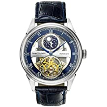 George Etherington Clerkenwell Reloj Automático para Hombre - Dial Analógico de 43mm - Caja Redonda y
