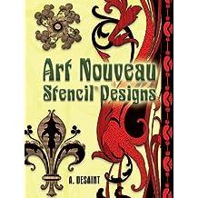 Art Nouveau Stencil Designs (Dover Pictorial Archive) (English Edition)