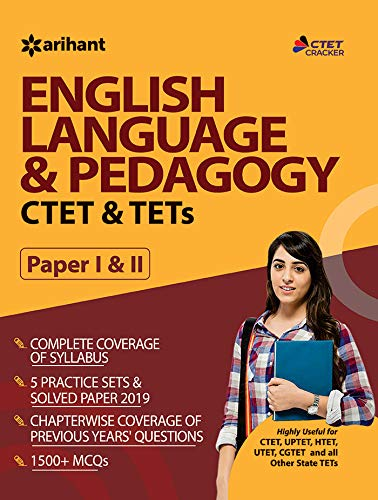 CTET and TETs English Language and Pedagogy Paper 1 and 2 2019