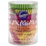 Wilton, pirottini da Forno Standard Neon Florals 150 Pezzi