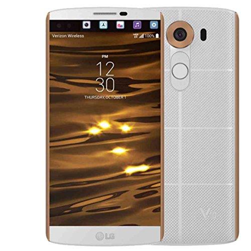 "LG - Smartphone LG V10 H960A 32GB 5,7"" White"