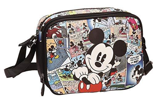 Disney 3235951 Mickey Comic Umhängetasche, Mehrfarbig