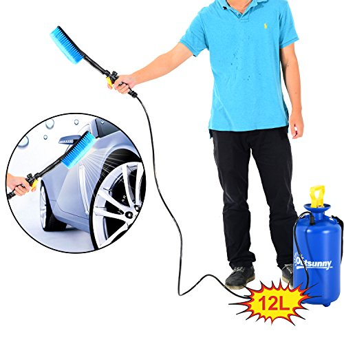 outsunny-12l-car-washer-power-portable-hand-pump-jet-action-high-pressure-sprayer-bottle-cleaner-wat