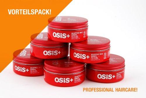 Schwarzkopf Lot de 6 pots de cire Osis Texture Wax Soufflé 75 ml