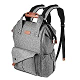 Best Diaper Bag Backpacks - Diaper Bag, Canbeisi Waterproof Nappy Changing Backpack Large Review