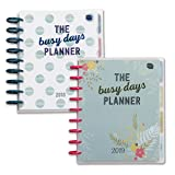Boxclever Press Busy Days Planner Set. Includes 2018 & 2019 Busy Days Planner. Two gorgeous illustrated week-to-view disc-bound planners for goals, dreams & organisation. Starts now until Dec 2019